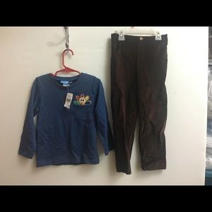 Goodlad Toddlers Top and Pant Set 4T NWT